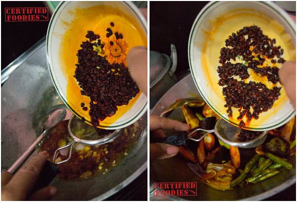 Annatto seeds with oil extracted for beef kare-kare recipe