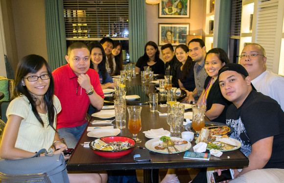 The Burp Society's pioneer members during the first meet-up at Cafe 1771 in El Pueblo