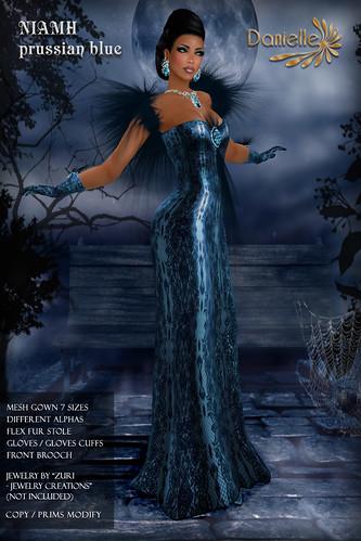 DANIELLE Niamh Prussian Blue