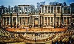 Roman Theatre of Merida photo by Danieldevad