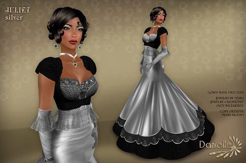DANIELLE Juliet Silver
