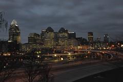 Cincinnati at 7:40 a.m. just before sunrise photo by durand clark