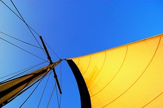 Sailing (explored) photo by Domingo Mery