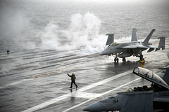 USS Harry S. Truman conducts flight operations. photo by Official U.S. Navy Imagery
