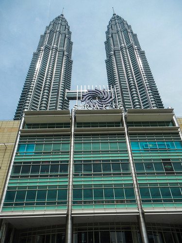 Patronas Towers in Kuala Lumpur