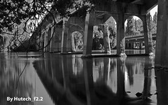 Under the Bridge in Black n White II_edited-1 photo by Hutech_f2.2 Half a Million+ Views!!!