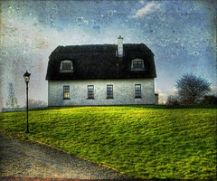 Irish Thatched Roof Home photo by Cat Girl 007
