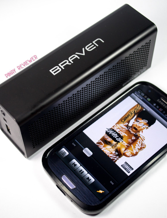 Braven 570 - a sexy portable wireless Bluetooth speaker