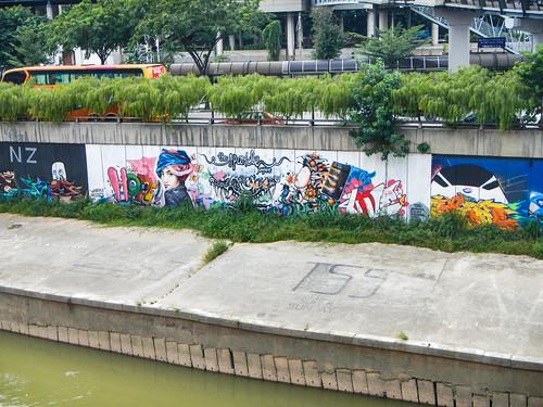 Murals in Kuala Lumpur