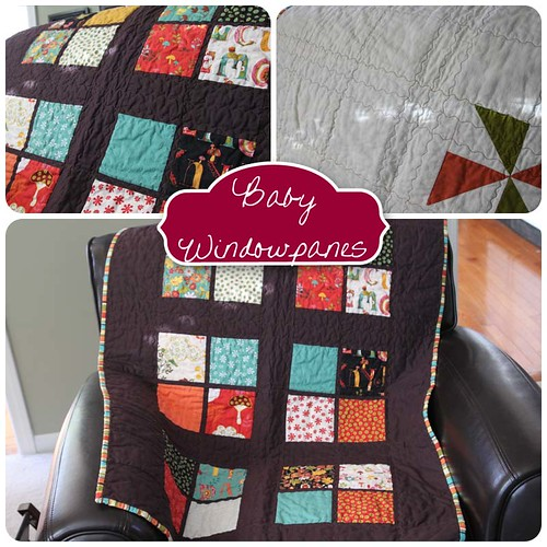 Baby Windowpanes Quilt