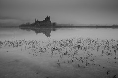 Kilchurn Castle Frozen photo by Belhaven2011