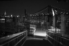 Ferry Landing at Brooklyn Bridge Park, Bargemusic.. photo by RobNYCity