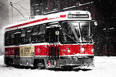Toronto's Winter Tank - TTC Street Car (42/365) photo by Chung Ho Leung