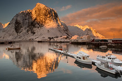 Lofoten Golden Hour photo by Oliver C Wright
