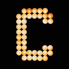 """C"" of lights photo by megorgar"