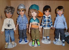 My customized Bratz Boyz :) photo by 1st ♥ Bratz Boyz