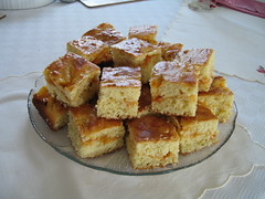 Mum's delicious Calabrese cake, yummy