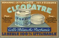 Colle blanche Cléopatre