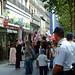 香榭麗舍大道上的抗議人士