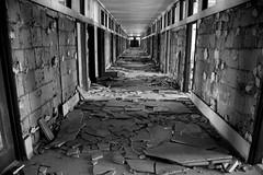 shattered hallway