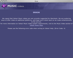 Yahoo Hates Macs
