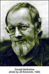 Donald Barthelme by Jill Krementz