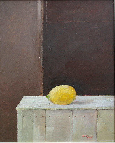 Lemon (Oil on Board)