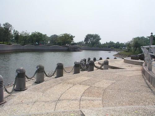 漂亮的河畔@台中都會公園