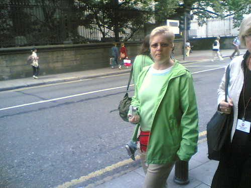 German Tourist (Note: Bum bag)