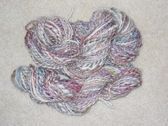 Dyed and Spun, all mine