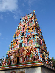 Chikka Tirupathi - View of the main gopuram