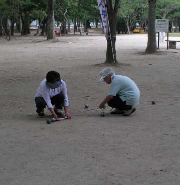 petanque a okayama1