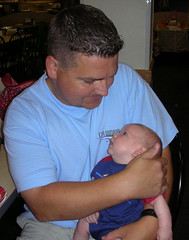 Daddy and Matthew 9/2/06.