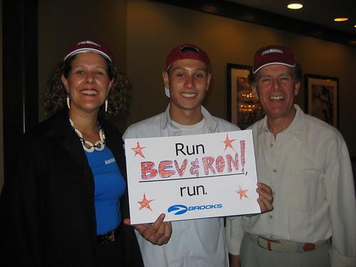 The day before the 2005 Marine Corps Marathon, Washington, DC