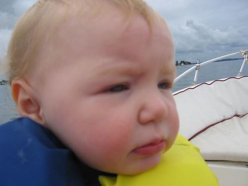 Leda on Boat