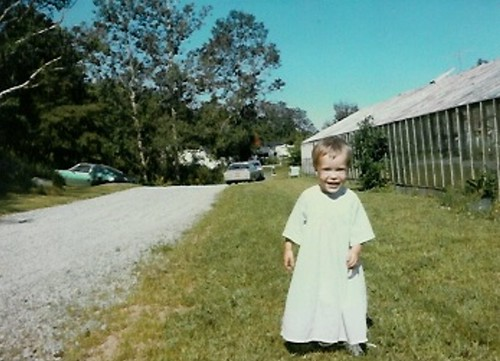 Eshinee: as a small child