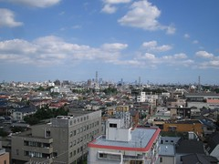 Tokyo's suburban sprawl