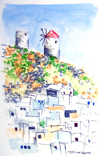 WindmillsOfHoraAmorgos