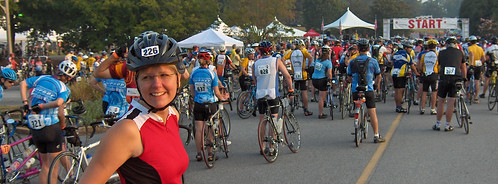 Chris at the Atlanta MS-150 Day 2