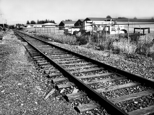 Railroad Tracks in Stayton Oregon