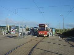 Endhaltestelle Linie 1 - Scheveningen