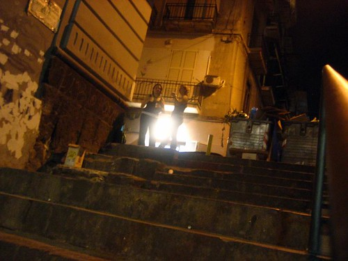 The Back Alley Steps by Da Michele