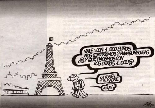 Paris es caro