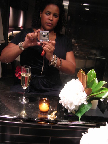 bathroom self portrait - soho grand penthouse