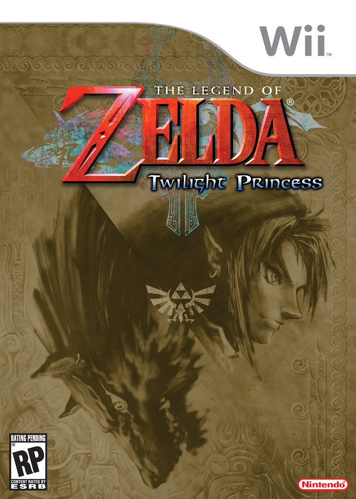 wii zelda box art