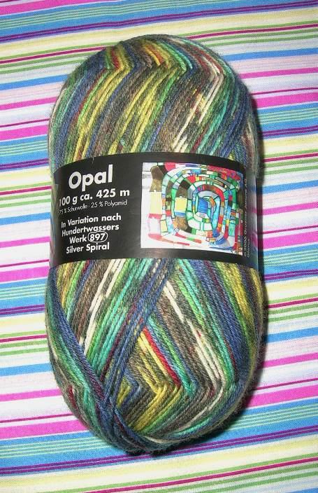 Opal Hundertwasser sock yarn