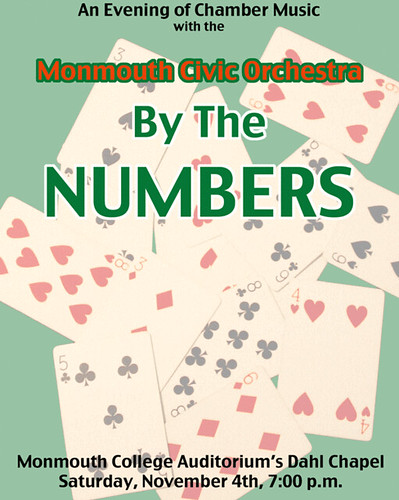 Poster: Monmouth Civic Orchestra concert, Nov. 4, 2006