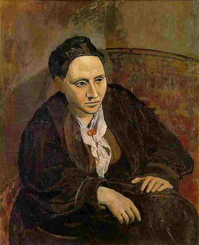 G. Stein, by P. Picasso (1906)