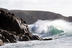 Big Wave : Porthcurno