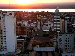 View of Downtown Asuncion
